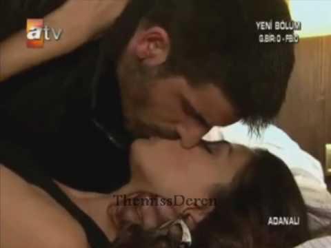 Fahriye Evcen öpüşme