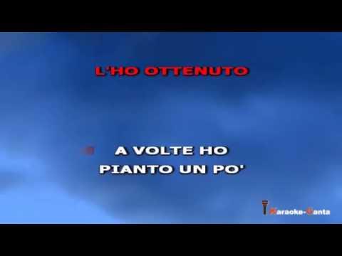 , title : 'Biagio Antonacci - Non e' mai stato subito (Video karaoke)'