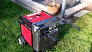 10. Quiet Honda EU6500is Generator Review and whole house backfeed