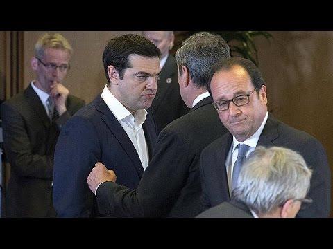 Ο Α. Τσίπρας παρουσιάζει το ελληνικό σχέδιο στην σύνοδο κορυφής της ευρωζώνης