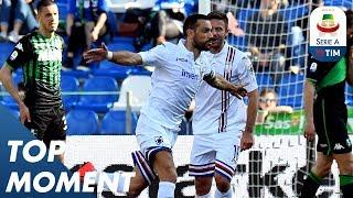 Quagliarella scores a wonderful strike AGAIN | Sassuolo 3-5 Sampdoria | Top Moment | Serie A