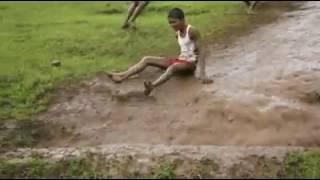 આ સે ગામડાં માં વરસાદ ની માજા..playing in monsoon