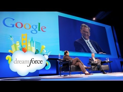Dreamforce - Salesforce.com's Marc Benioff and Google's Eric Schmidt discuss the future of cloud computing and what companies need to focus on to succeed in a fast moving...