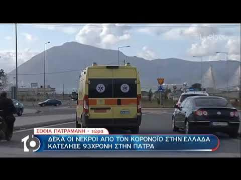 Κορονοϊός: Στους δέκα οι νεκροί στην Ελλάδα | 20/03/2020 | ΕΡΤ