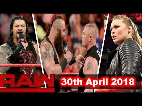 WWE Raw 30th April 2018 Highlights Results & Preview