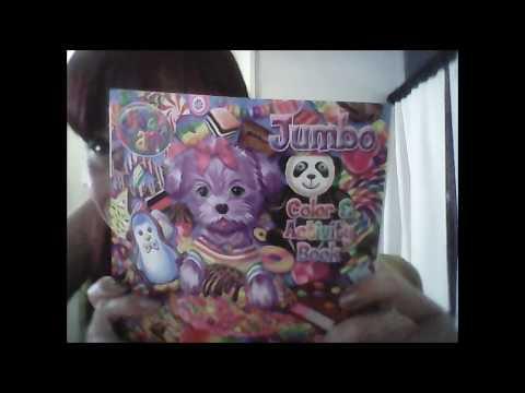 lisa frank coloring book & more goodies 👈