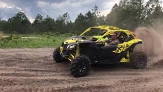 8. Honda Talon 1000R and Can am Maverick X3 XMR Turbo R Rip and Ride