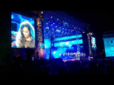 The Prayer – Leona Lewis & Joseph Calleja – Concert 2014 at The Granaries, Floriana – 18/07/2014