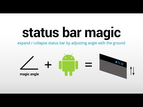 Video of Status Bar Magic