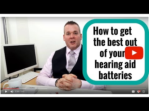 How to get the best from your hearing aid batteries.