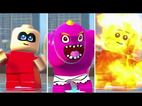 LEGO The Incredibles - Jack-Jack All Transformations (Gameplay Showcase) (видео)