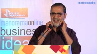 Kochouseph Chittilappilly, Chairman, V - Guard Industries Ltd, delivers his chief guest address at the grand finale of Big Business Idea Contest, Season 1 powered by Manorama Online in association with South Indian Bank.Subscribe Manorama Online for more videos- https://goo.gl/bii1FeOfficial Website - http://manoramaonline.comEnglish website - http://onmanorama.comFollow Us on Social MediaFacebook - https://www.facebook.com/manoramaonlineTwitter - https://twitter.com/manoramaonlineGoogle+ - https://plus.google.com/+manoramaPinterest - https://in.pinterest.com/manoramaonlineRecommended Videos For YouI Me Myself - https://goo.gl/uYjdGIBike / Car Reviews  Test Drives - https://goo.gl/MtSE5HManorama 360 - https://goo.gl/Pz5Z5YGlimpses of Kerala - https://goo.gl/KTdkqmFitness Tips - https://goo.gl/4HBPvUMusic Shots - https://goo.gl/m3P3sAAathmabhashanam - https://goo.gl/05baOmGlimpses of Kerala  Manorama 360Glimpses of Kerala by Manorama 360 features Kerala in 360 Degree videos. Offering virtual reality (VR) experience to the viewers, these #YT360Day videos make viewers feel that they were present on the spot to watch it directly. Visit #Manorama360 site - http://manoramaonline.com/360I Me MyselfI Me Myself is Manorama Online's platform for celebrity chats. Bearing the tagline 'Celebrating the Celebrity', #IMeMyself features exclusive interviews with your favourite actors and actresses, singers and all who fall in the category of public figures and celebrities.Manorama OnlineManorama Online is the digital version of Malayala Manorama, the most read Malayalam newspaper in Kerala. Taking care of varying interests of the readers, #ManoramaOnline covers news, reviews, features and lots more. The site envisions to provide information, entertainment and relaxation to the readers. Visit site - http://manoramaonline.com