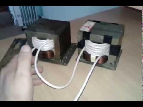 Как сделать сварочный аппарат из трансформатора от микроволновки