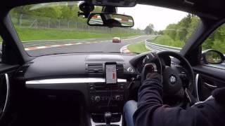 Chasing my friend in his e46 m3e82 135i spec:2008 N54Bilstein B12 (B8 Dampers / Eibach Springs)e93 M3 front / rear anti roll / sway barse9xM3 3,15 LSDe9x M3 front / rear control armsMix of M3 and powerflex bushesMichelin Pilot Sport 4 tyres (225/40/18 & 255/35/18)e46 M3 spec:KW ClubsportsTurner adjustable rear armsBBS RC WheelsMichelin Pilot Sport Cup 2 tyresSuperSprint Lightweight Race Rear exhaustMilltek Race CatsKarbonius CSL Carbon Airbox'M3CARBON1' remapFully polybushed'Purple' Steering RackRecaro Pole Position SeatsFull InteriorVorsteiner CSL bumperGenuine BMW boot & diffuser