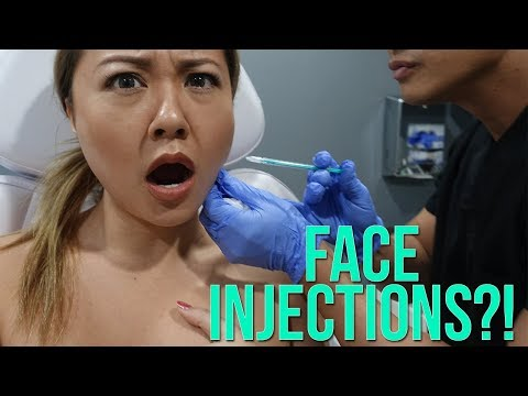 Getting Injections on my Face!