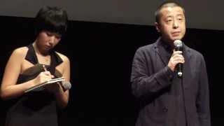 A Touch of Sin - Q&A Toronto Film fest, Lightbox (9-11-2013) - dir Zhangke Jia & actress Tao Zhao