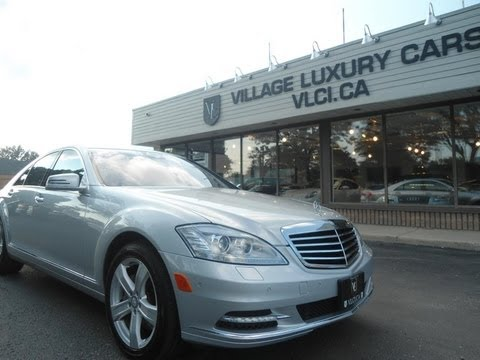 2010 Mercedes Benz S450 4Matic in review - Village Luxury Cars Toronto