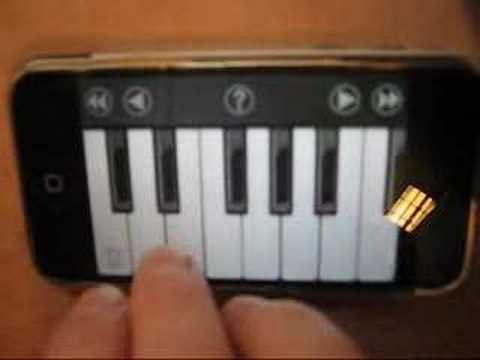 iPhone iAno Beethoven symphony No. 9 Ode To Joy