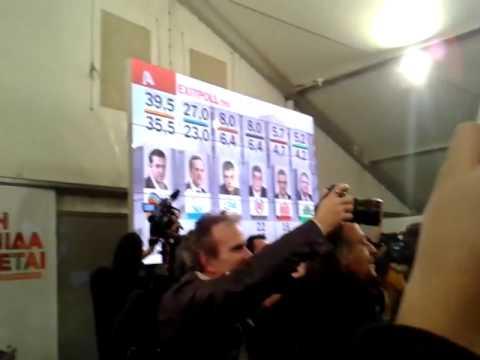 Araiz: Las encuestas otorgan mayoria absoluta a Syriza