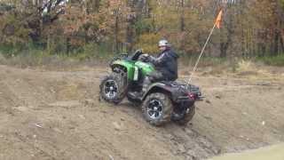 9. Al's new 2013 artic cat mud pro 700