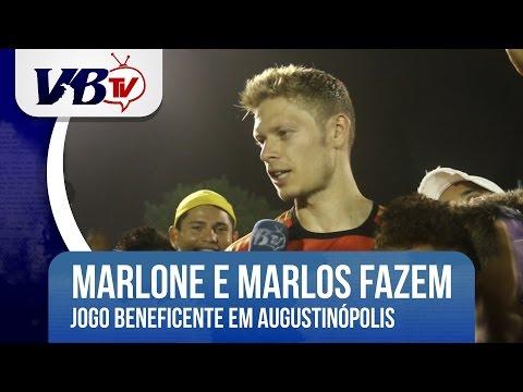VBTv | Marlone e Marlos realizam jogo beneficente em Augustinópolis