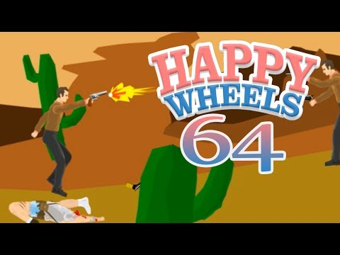 Happy Wheels z Disem! #64 - Headshot i zboczony Jones!