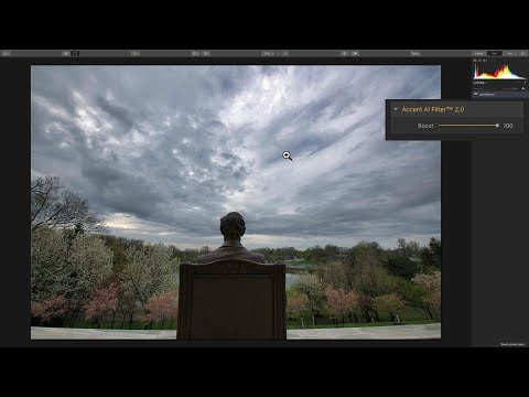WOW! Accent AI 2.0 Filter in Luminar 3.1