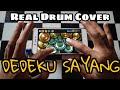 Dedeku Sayang Real Drum Cover (Reggae Version by Jheje Project)