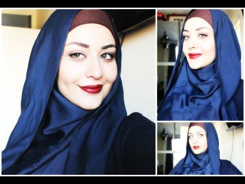 Tutoriel Hijab style inversé