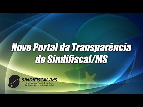 Sindifiscal-MS publica Portal da Transparência