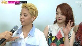 음악중심 - F(x), Ailee, BEAST, INFINITE - Interview, 에프엑스, 에일리, 비스트, 인피니트 - 인터
