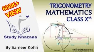 As per the syllabus, you will learn the following:what is TrigonometryBasic tips for TrigonometryPythagoras theoremUse of Pythagoras theoremIntroduction to the Six trigonometric ratioMr. Sameer Kohli is our the most interactive teacher of study khazana. He teaches the students of class IX, X, XI, and XII. Further, he has 18 years of experience and this experience has made many students score the best result. A topic taught by Sir cannot be forgotten. He has a zeal to teach and he always comes up with a new enthusiasm, a new story and a new trick. His lectures are boon for all the students who want to succeed. In his lectures, he has shared some secrets of success. If you wish to be successful you should watch his lectures. These lectures can be a life changing experience for you.To watch more tutorials Subscribe us: https://www.youtube.com/c/StudyKhazana** Stay Connected with Us **https://www.facebook.com/studykhazanahttps://twitter.com/StudyKhazanaahttps://plus.google.com/+StudyKhazanahttps://www.instagram.com/study_khazana/Full Course and Lecture Videos now available on (Study Khazana) login at http://studykhazana.com/Contact Us : +91 8527697924Mail Us: mail@studykhazana.com