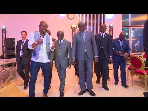 COTE D'IVOIRE : VISITE DU SOFITEL HOTEL DU  MINISTRE AMON TANOH