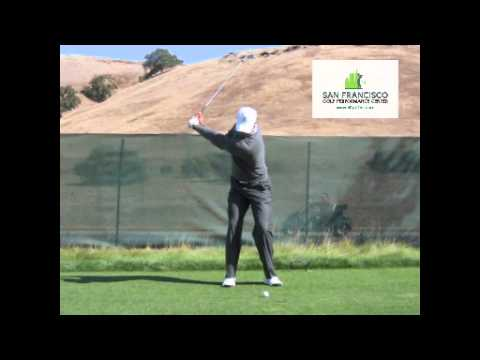 Tiger Woods 5-Iron FO Golf Swing Frys 2011