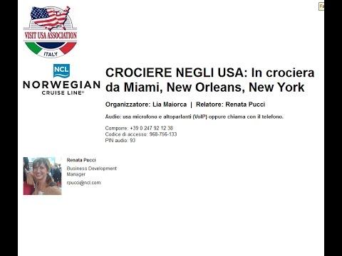 Video CROCIERE NEGLI USA: in crociera da Miami, New Orleans, New York (15/3/2016)