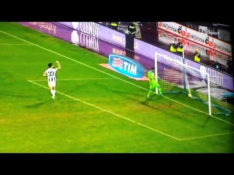 La séance de tirs au but de Napoli-Udinese