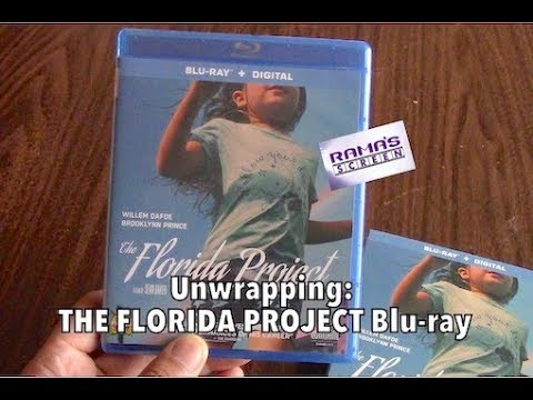 Unwrapping | 'THE FLORIDA PROJECT' Blu-ray
