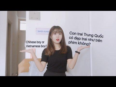 [Vlog] - Con trai Trung Quốc có đẹp trai như trên phim hay không? (Chinese boy or Vietnamese boy?) - Thời lượng: 8:04.