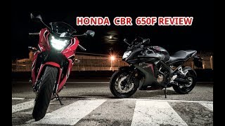 5. Honda CBR 650F 2018 REVIEW - FIRST LOOK & SPECS