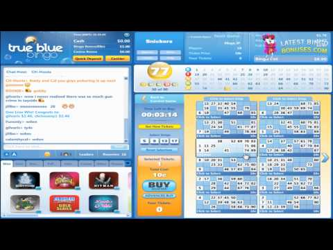 True Blue Bingo Video Review