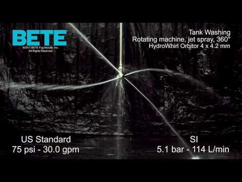 HydroWhirl Orbitor 100  - 高影响坦克洗衣机GydF4y2Ba
