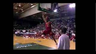 Lebron James vs Shannon Brown High School DUNK CONTEST