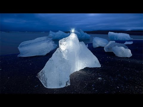 Photography - Light Painting in Greenland OmU
