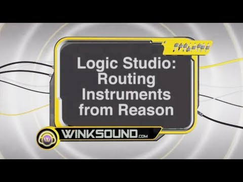 Propellerhead Reason: Routing Instruments to Logic Pro | WinkSound