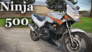 1. Kawasaki Ninja 500 Best Beginner bike EVER!!