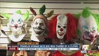 Franklin (OH) United States  city images : Franklin woman says she was chased by a clown