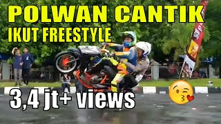 Video POLWAN CANTIK ikut Freestyle motor 🏍 - Kopgab KOPPI 2k16 MP3, 3GP, MP4, WEBM, AVI, FLV Februari 2019