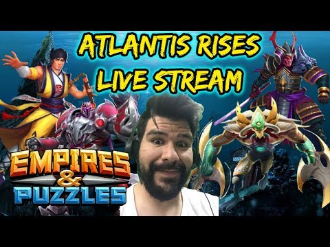 Atlantis Rises! Empires and Puzzles stream, tips, tricks and other help! 7/25