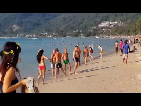 NEW VIDEO,PATONG BEACH,14.1.2015.PHUKET,THAILAND.