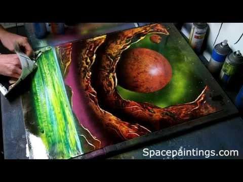 dessin et peinture vid o 835 tous les moyens sont bons pour peindre avec une peinture. Black Bedroom Furniture Sets. Home Design Ideas